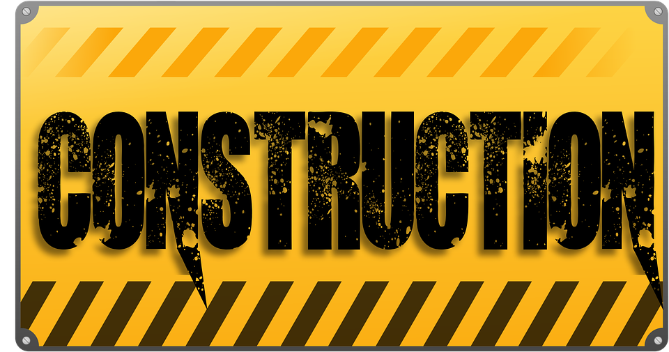 Construction warning